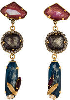 Erickson Beamon Crystal Drop Earrings