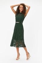 Coast Belted Lace Shirt Dress
