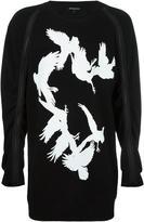Ann Demeulemeester zipped detailing sweatshirt - men - Cotton - M
