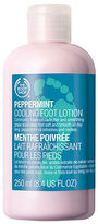 The Body Shop Peppermint Cooling Foot Lotion, Peppermint 8.45 fl oz (250 ml)