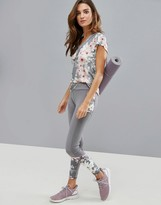 Ted Baker Fit to a T Blossom Legging with Mesh Panels