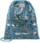 Cath Kidston Garage Mono Kids PVC Drawstring Bag