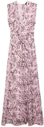 Mimi Liberte Long Ida Dress in Toc Toc Pink