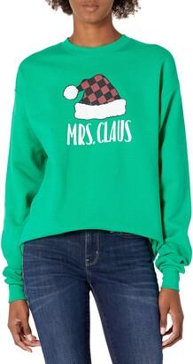 Hanes Women's Ugly Christmas Sweatshirt-Mrs. Claus