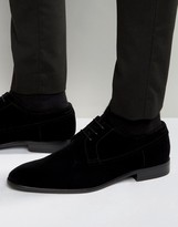 Hugo By Hugo Boss Dressapp Velvet Derby Shoes