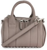 Alexander Wang Mini Rockie Leather Satchel Bag, Mink Gray
