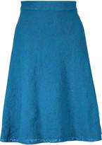 M Missoni Stretch-knit jacquard skirt