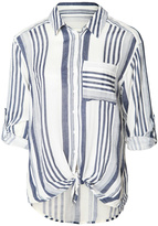 Dex Striped Tie Up Shirt