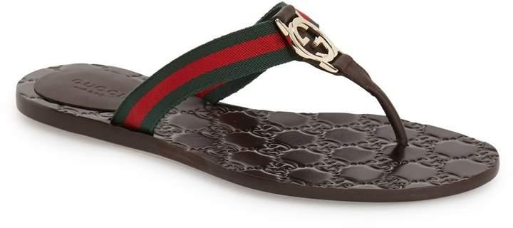 Gucci 'GG' Logo Sandal