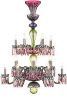 Saint Louis Crystal Arlequin 18-Light Chandelier