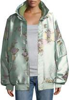 FENTY PUMA by Rihanna Reversible Floral Bomber Jacket