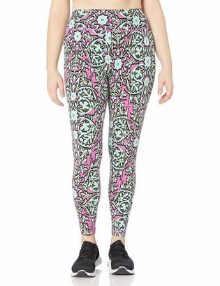 Rainbeau Curves Womens Jaclynn Floral Print Legging Multi Floral 22/24
