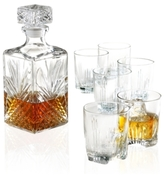 "Bormioli Selecta"" 7-Piece Whiskey Glassware Set"