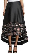Sachin + Babi Faye High-Low Ball Skirt