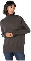 BCBGeneration Turtleneck Sweater FOO5254933 (Charcoal) Women's Sweater