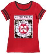 NCAA Nebraska Cornhuskers Girls Foil T-Shirt