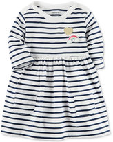 Carter's Stripes & Patches Cotton Dress, Baby Girls (0-24 months)