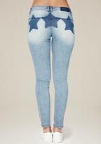 Bebe Star Wash Skinny Jeans
