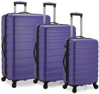 U.S. Traveler Bondi 3Pc Spinner Luggage With Smart Usb Port