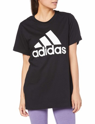 adidas Women's W Badge of Sport Cotton Tee - Inclusive Size Pants