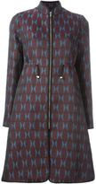 Mary Katrantzou farfelle jacquard coat