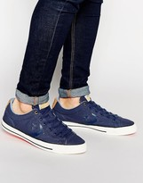 Converse Cons Canvas Trainers - Blue