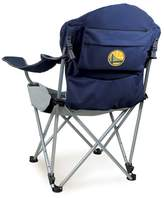 Picnic Time Outdoor Golden State Warriors Reclining Camp Chair