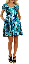 24/7 Comfort Apparel Summer Reef Dress