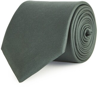Reiss Aiden - Silk Tie in Deep Green