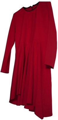 Maje Red Polyester Dresses