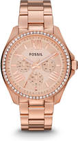 Fossil Cecile Multifunction Rose-Tone Stainless Steel Watch