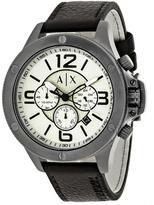 Giorgio Armani Exchange Wellworn AX1519 Men's Gunmetal Ion-Plated Stainless Steel Chronograph Watch