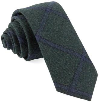 Tie Bar Barberis Wool Scoldo Green Tie