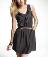 Express Sleeveless Ruffle Front Dress