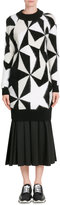 Vionnet Sweater Dress with Mohair, Angora and Cashmere
