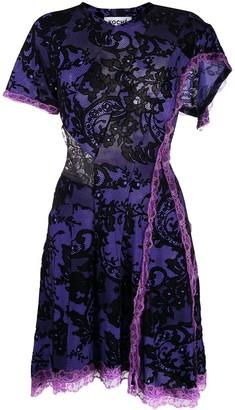 Koché Floral Lace Dress