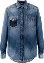 No.21 stonewashed denim shirt - men - Cotton/Polyester - 46