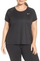 Nike Plus Size Women's Dry Miler Top