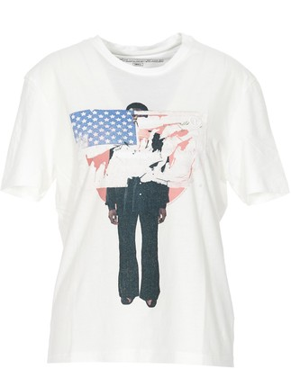 Telfar Graphic Printed T-Shirt