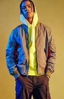 PacSun Editor's Choice Classic Tartan Plaid Bomber Jacket