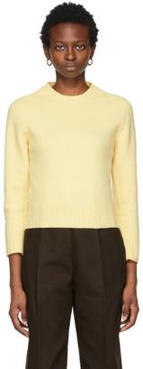 Jil Sander Yellow Wool Sweater