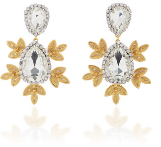 Mallarino Garance 24K Gold Vermeil and Crystal Earrings