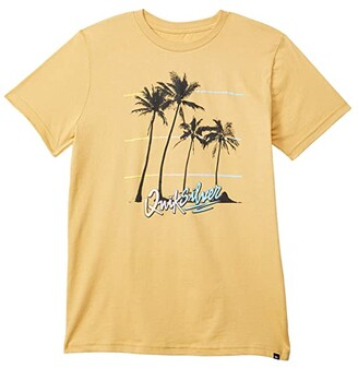 Quiksilver Over The Mountain Tee (Big Kids) (Rattan) Boy's Clothing