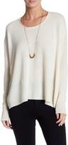 Inhabit Luxe Swing Crew Neck Cashmere Sweater