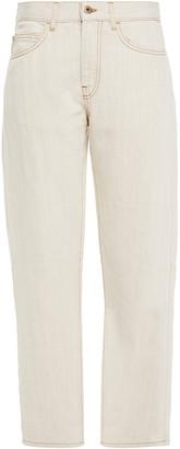 McQ High-rise Straight-leg Jeans