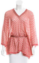 Missoni Open Knit Belted Cover-Up