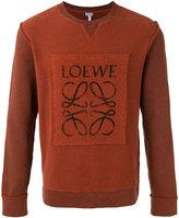 Loewe logo print sweatshirt - men - Cotton - S