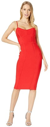 BCBGMAXAZRIA Bodycon Dress (Rosso) Women's Dress