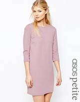 Asos Shift Dress in Ponte with 3/4 Sleeves