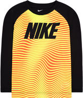 Nike Dri-FIT Long-Sleeve Wave Striped Top - Toddler Boys 2t-4t